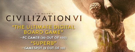 Now Available On Steam – Sid Meier's Civilization® VI