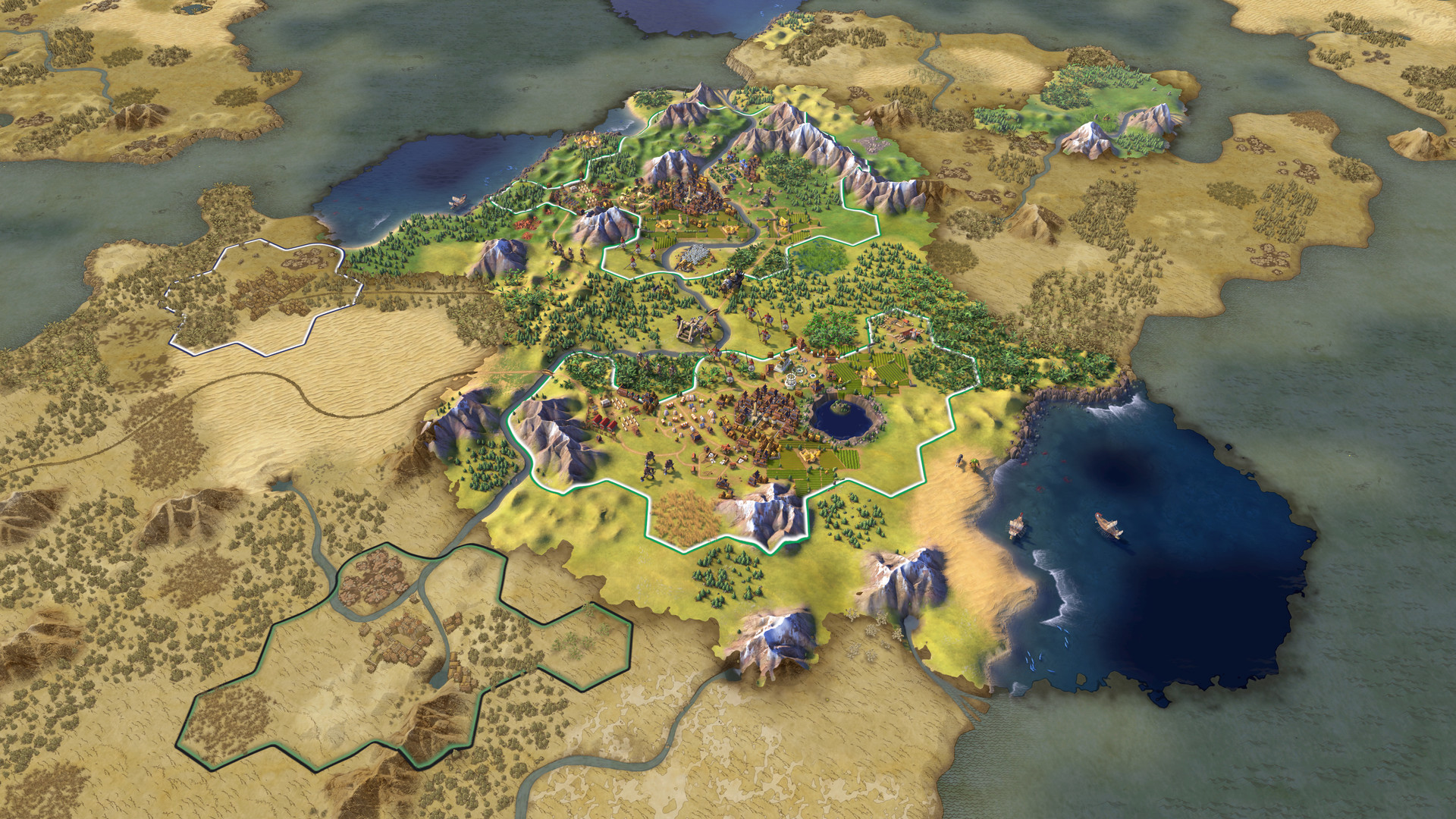 Sid Meier's Civilization VI Screenshot 2