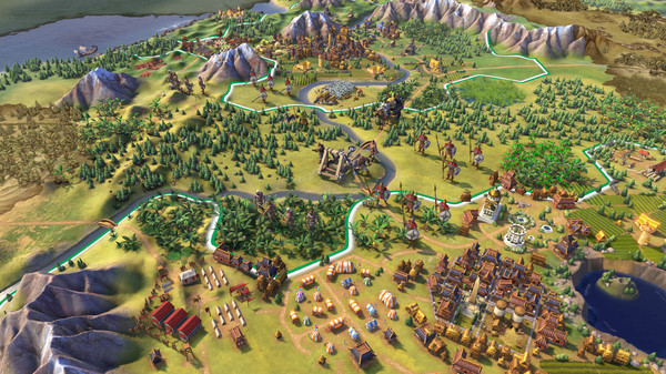 Скриншот игры [Аккаунт] Sid Meier´s Civilization VI