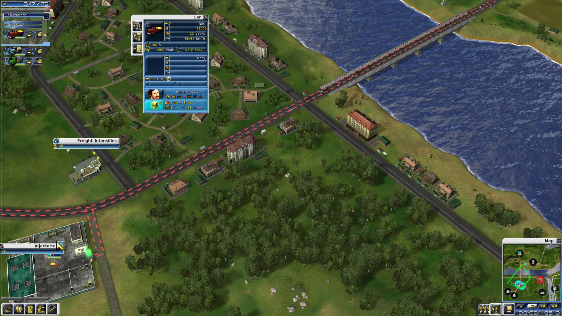 Freight Tycoon Inc. screenshot