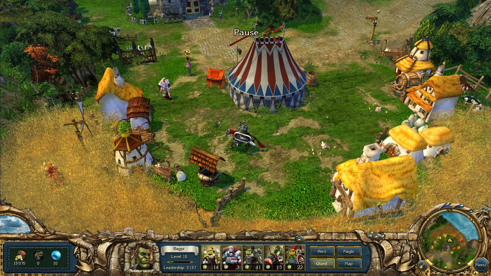 King's Bounty: Dark Side screenshot
