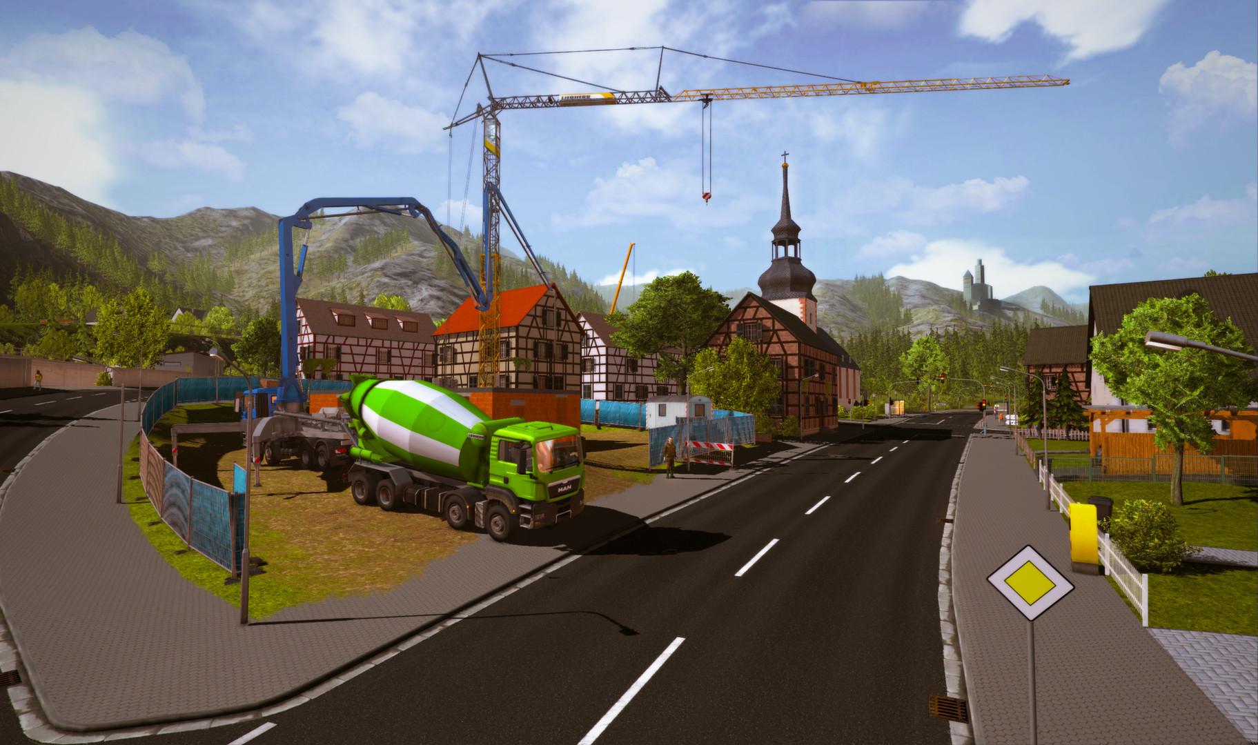تحميل لعبة محاكاة الحفر والبناء