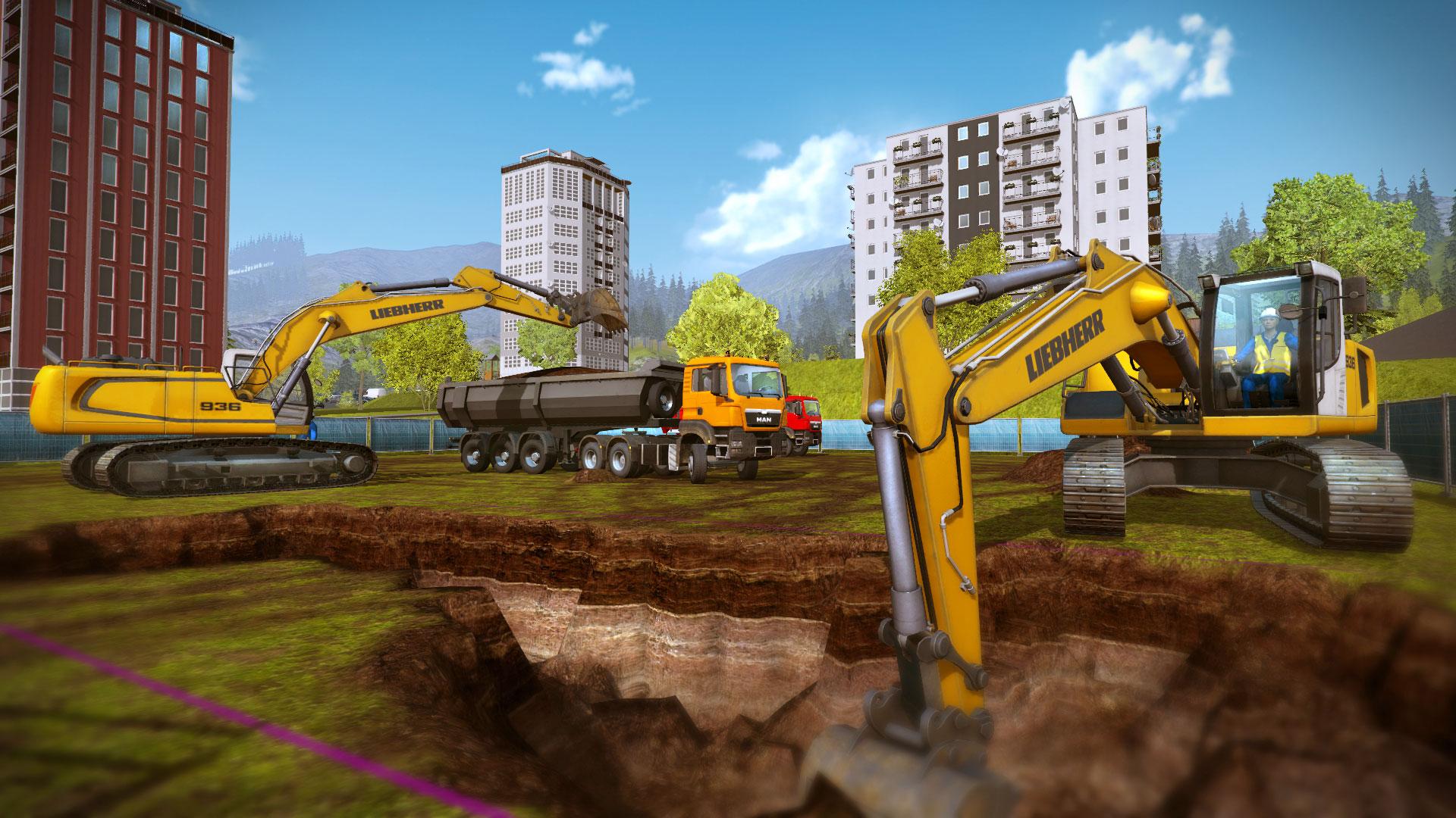 Charming Construction Simulator 2015 Screenshot
