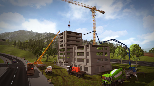 ConstructionSimulator2015 スクリーンショット3
