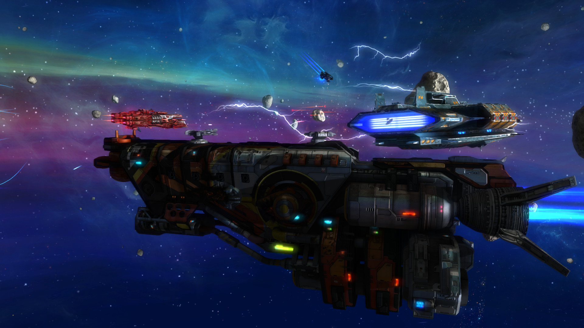 Rebel Galaxy screenshot 1