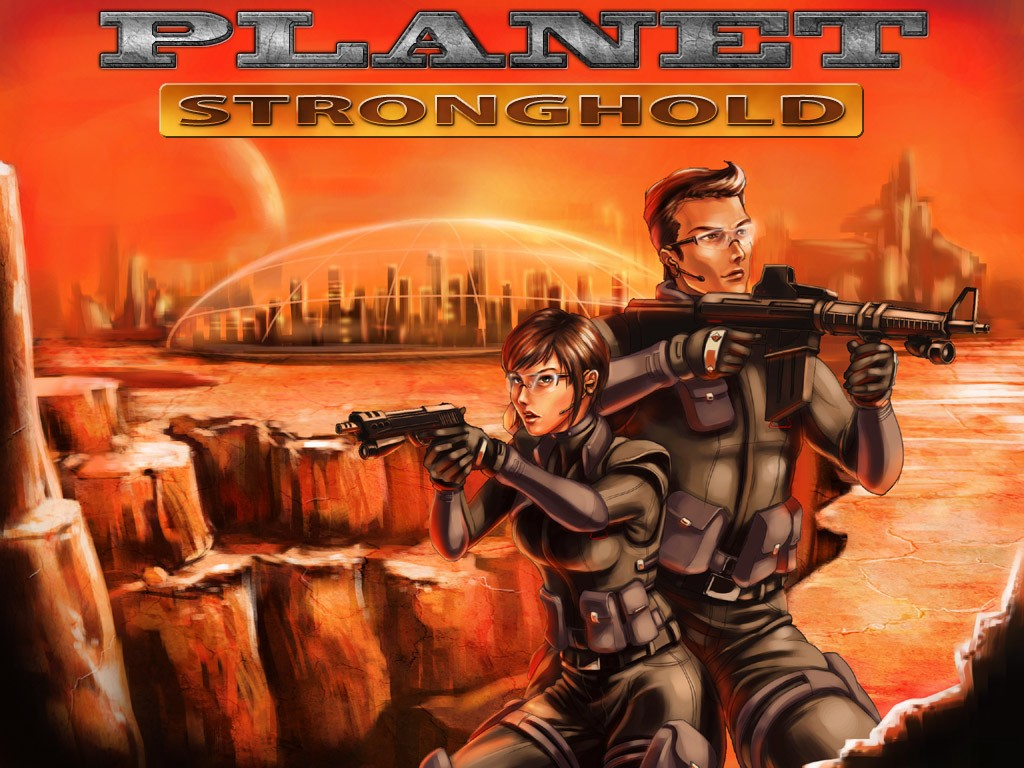 Planet Stronghold screenshot
