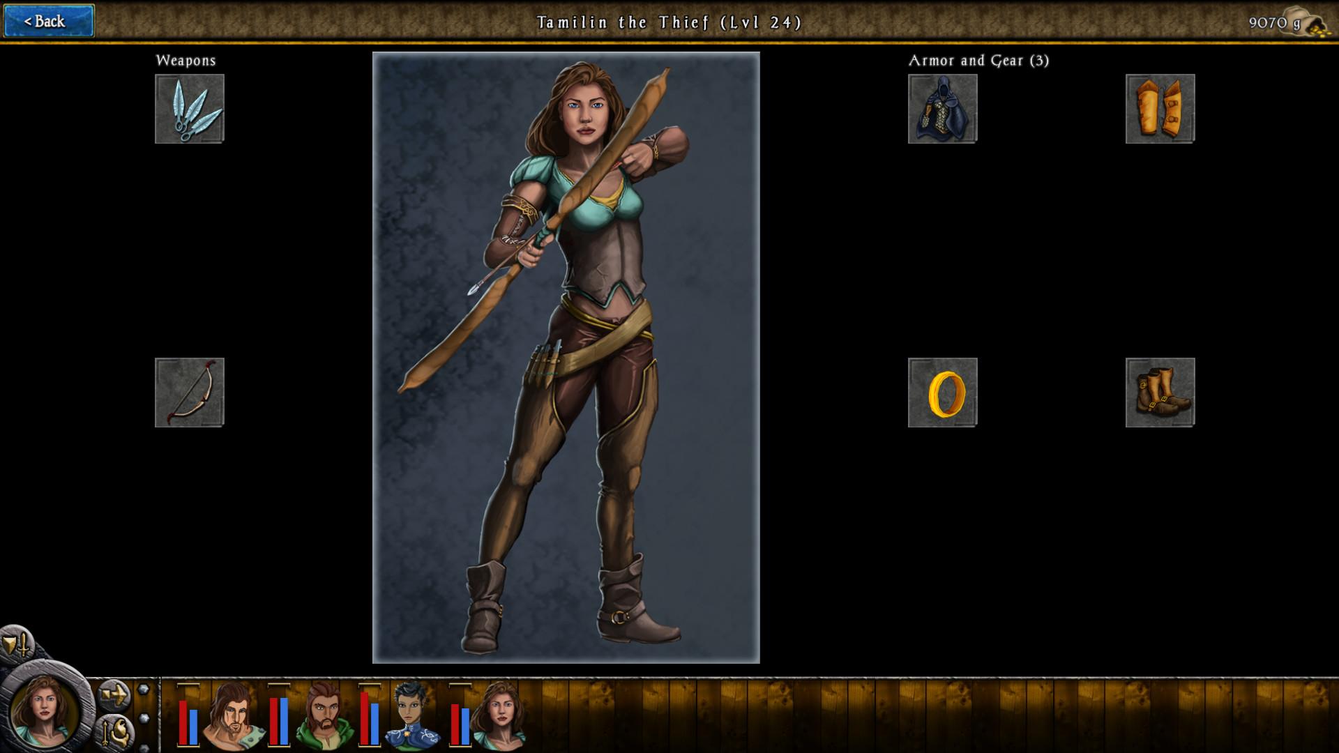 Heroes of Steel RPG screenshot
