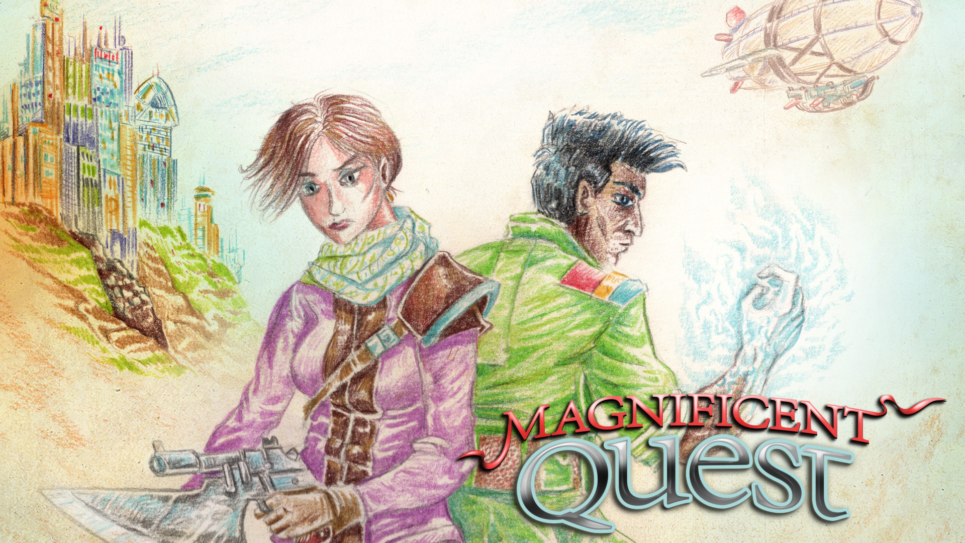 RPG Maker VX Ace - Magnificent Quest Music Pack screenshot