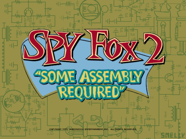 """Spy Fox 2 """"Some Assembly Required"""" screenshot"""