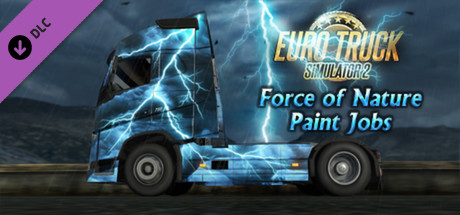 Cheap Euro Truck Simulator 2 - Force of Nature Paint Jobs Pack steam key