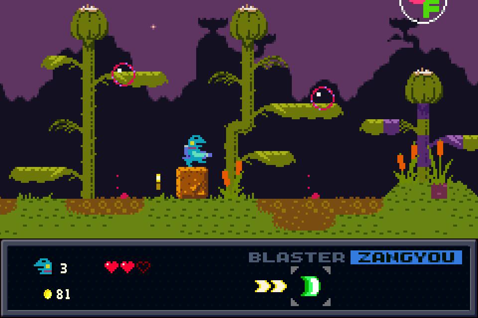 Kero Blaster screenshot