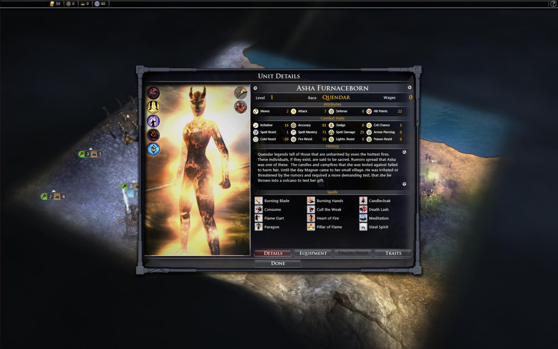 Fallen Enchantress: Legendary Heroes - Leader Pack DLC screenshot