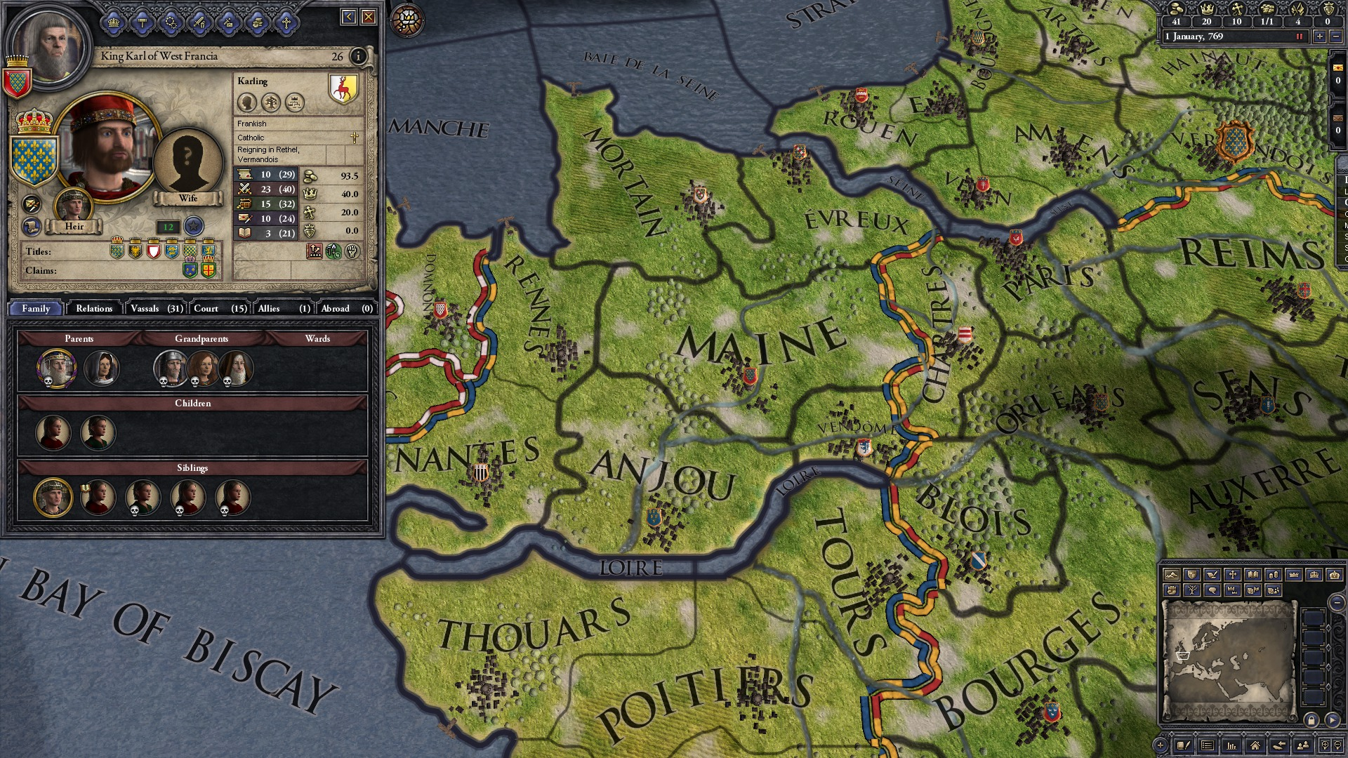 Crusader Kings II: Early Western Clothing Pack screenshot