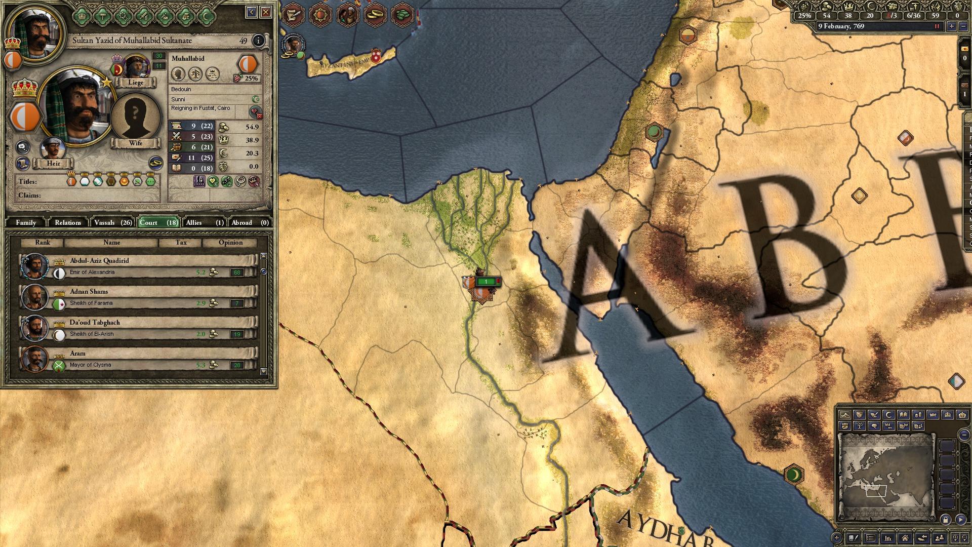 Crusader Kings II: Early Eastern Clothing Pack screenshot