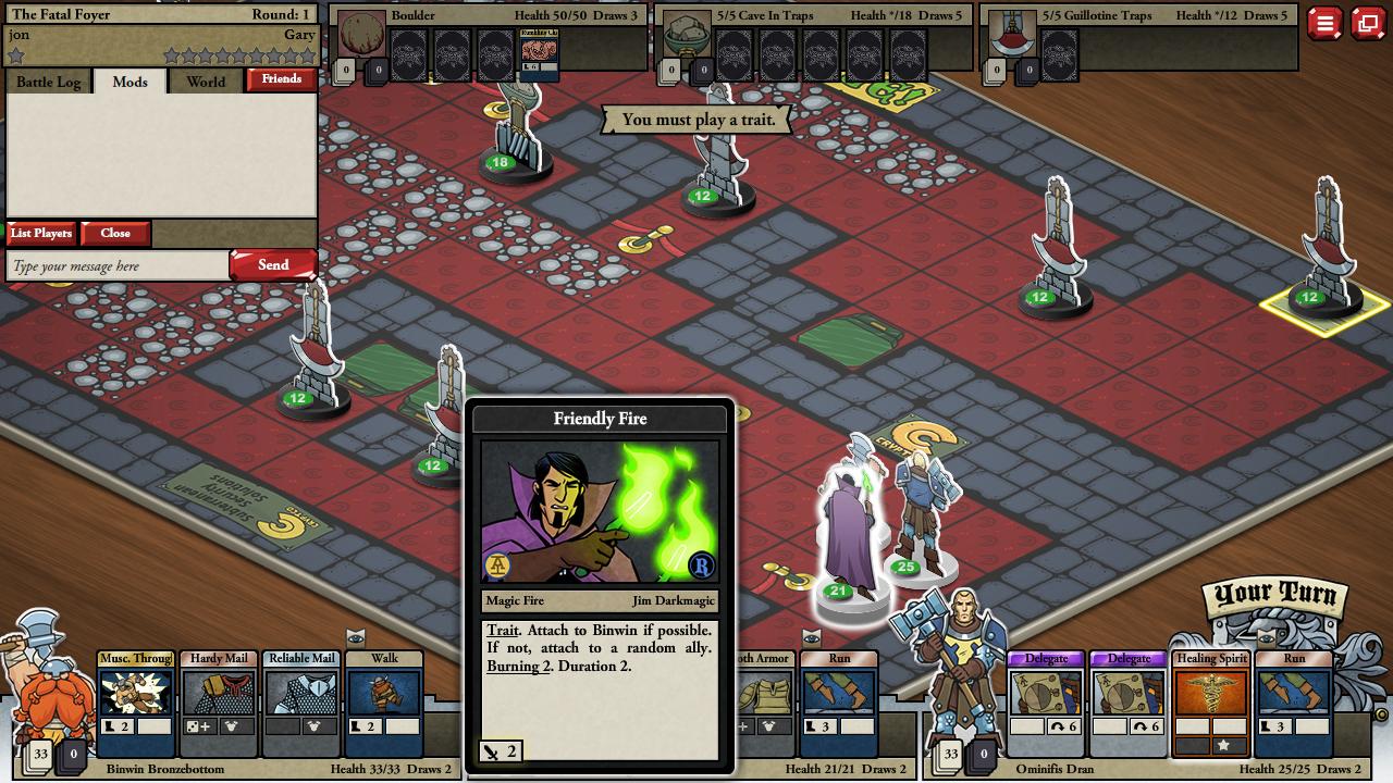 Card Hunter screenshot