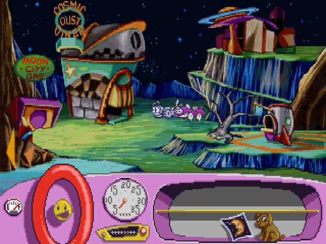 Putt-Putt Goes to the Moon screenshot