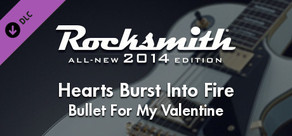 "Rocksmith® 2014 – Bullet For My Valentine - ""Hearts Burst Into Fire"""