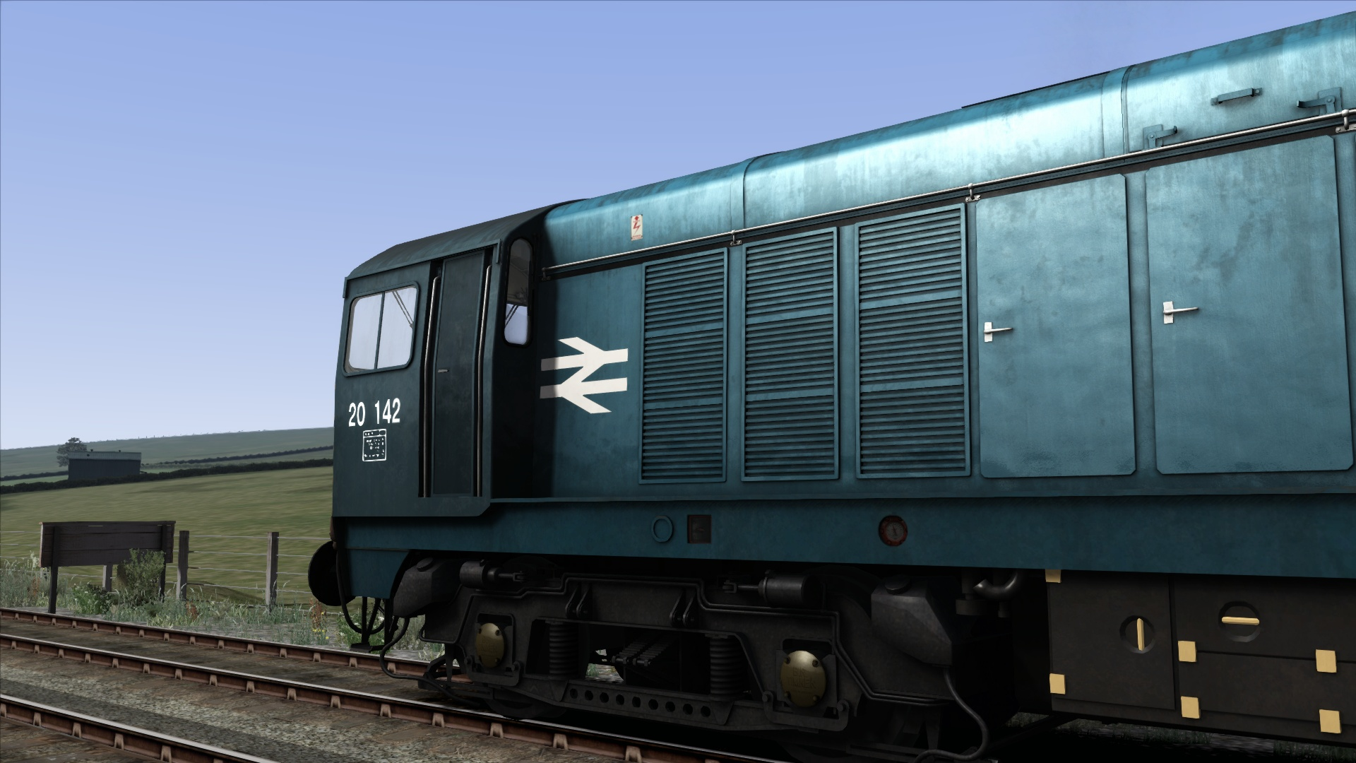 BR Blue Class 20 Add-On Livery screenshot