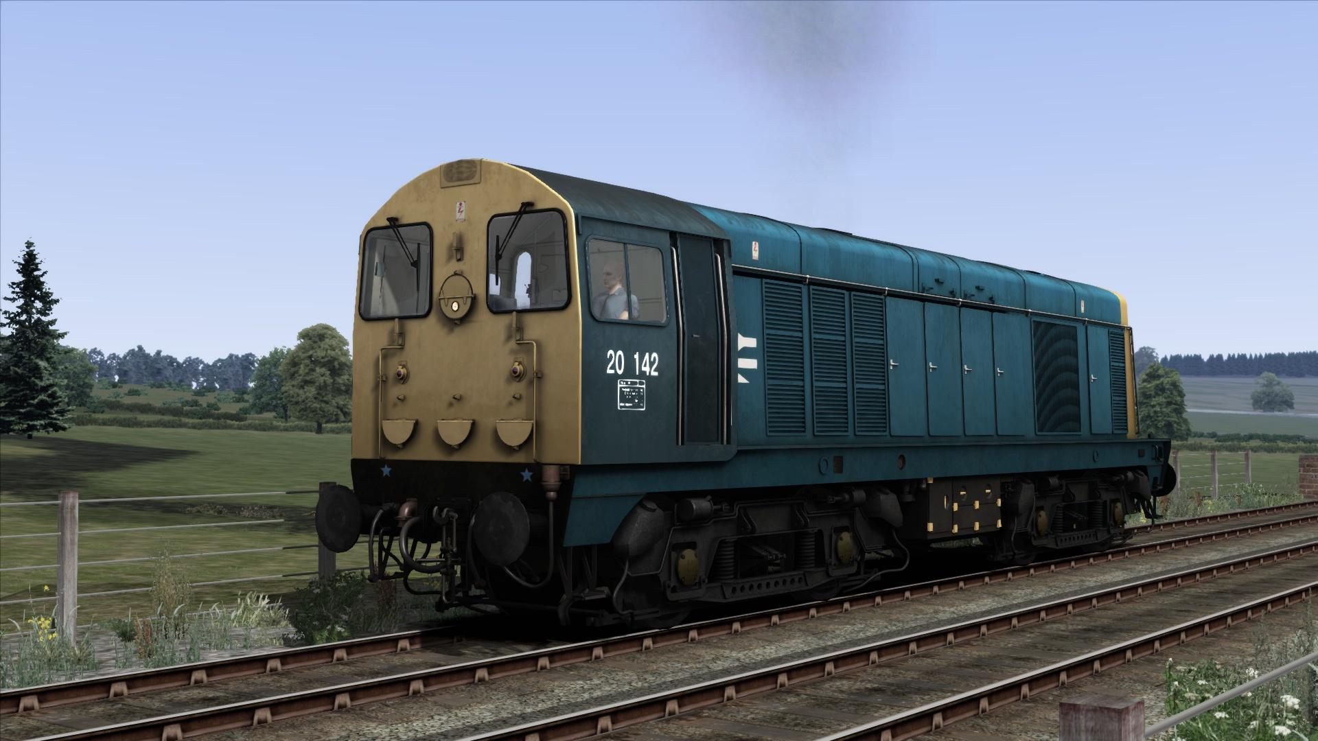 BR Blue Class 20 Add-On Livery screenshot