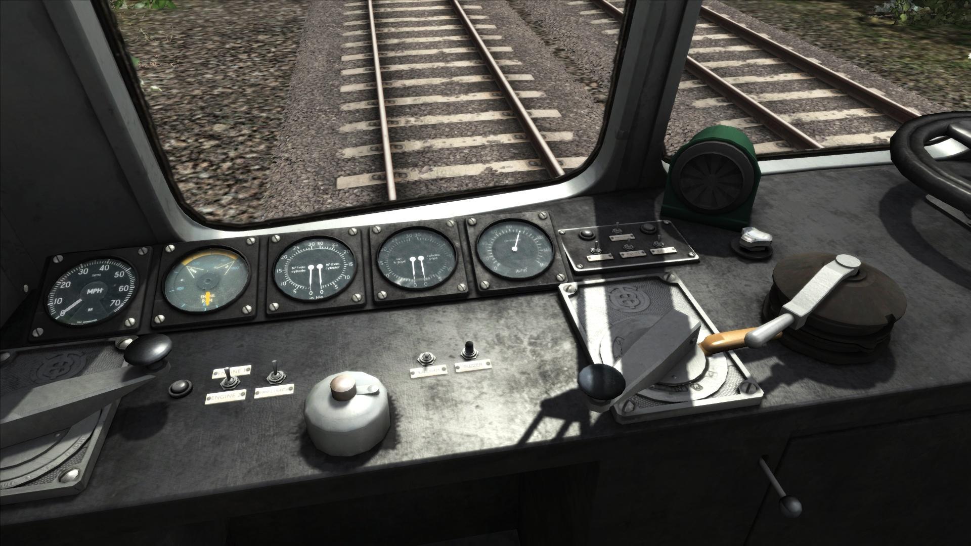 BR Blue/Grey Class 121 Add-On Livery screenshot