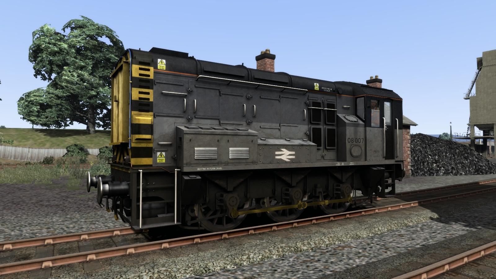 Class 08 Triple Grey Livery Add-On screenshot