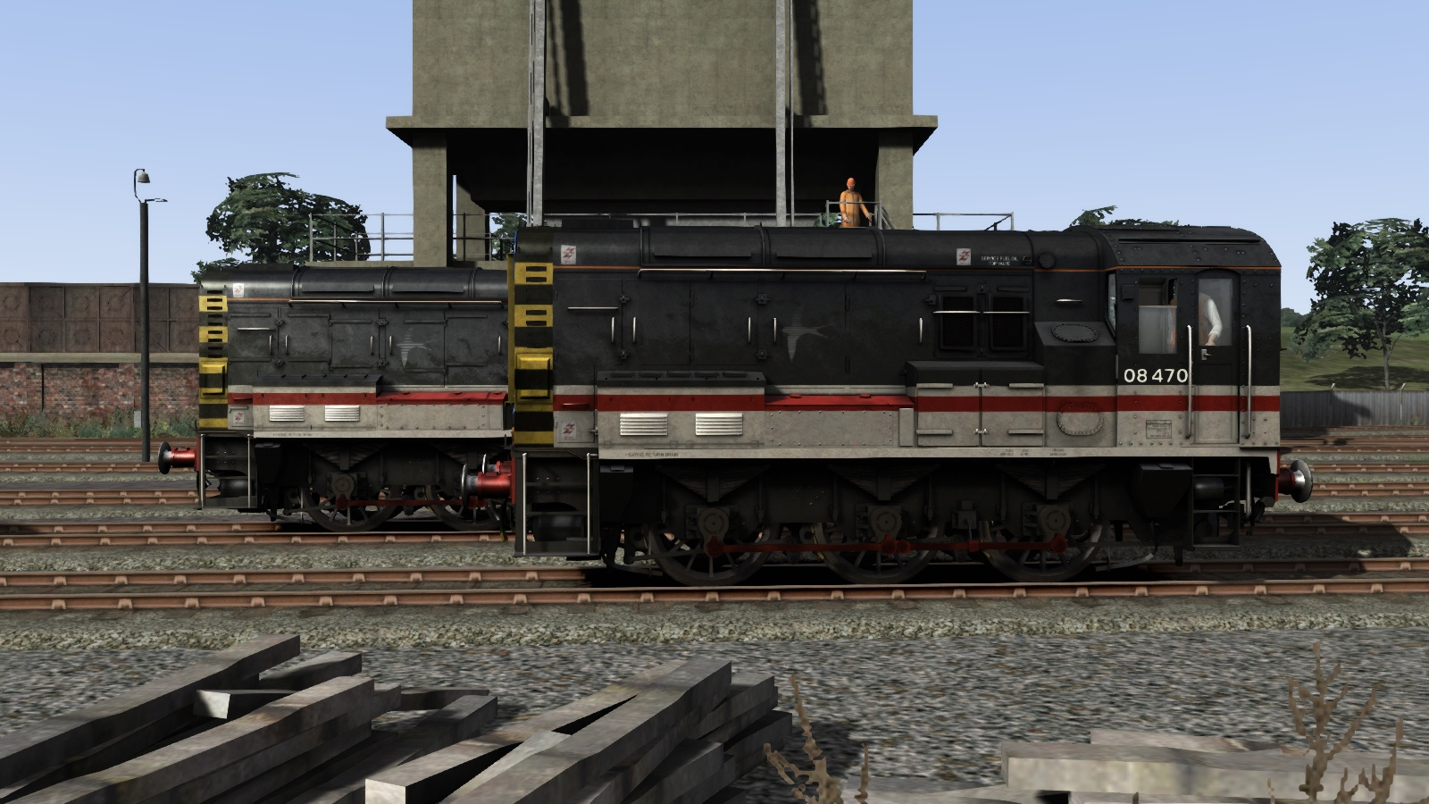 Class 08 InterCity Livery Add-On screenshot