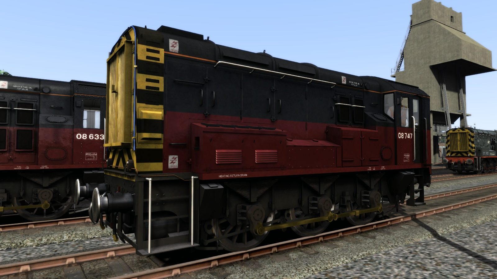 Class 08 RES Add-On Livery screenshot