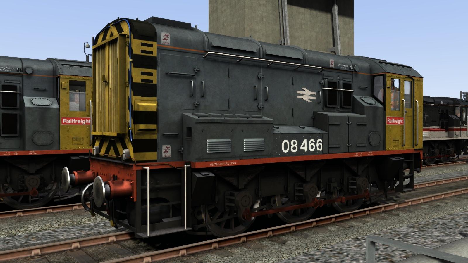 Class 08 Railfreight Add-On Livery screenshot