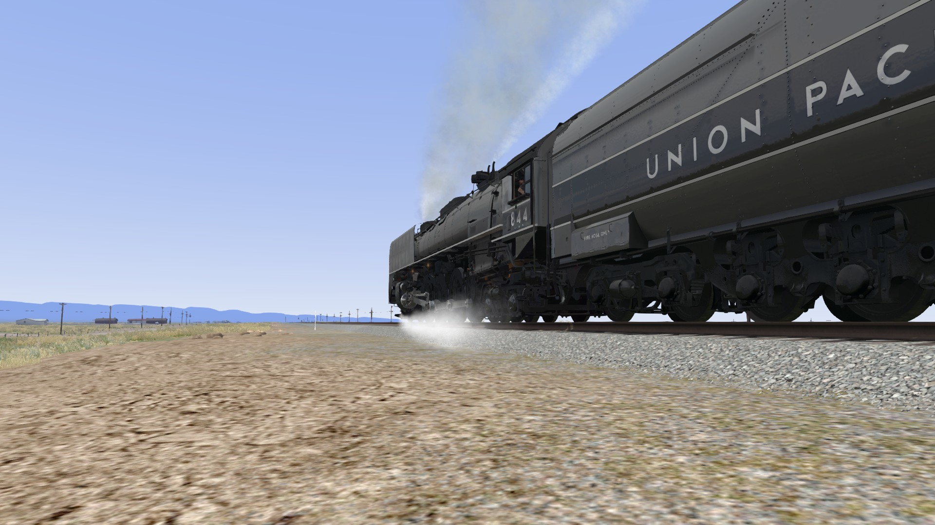 Union Pacific FEF-3 Overland Add-on Livery screenshot