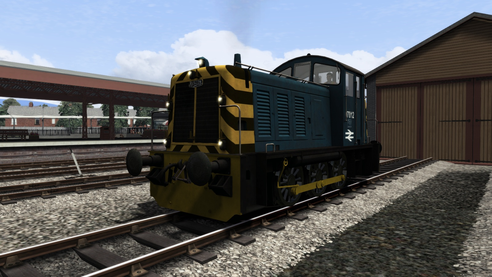 BR Blue Class 07 Add-On Livery screenshot