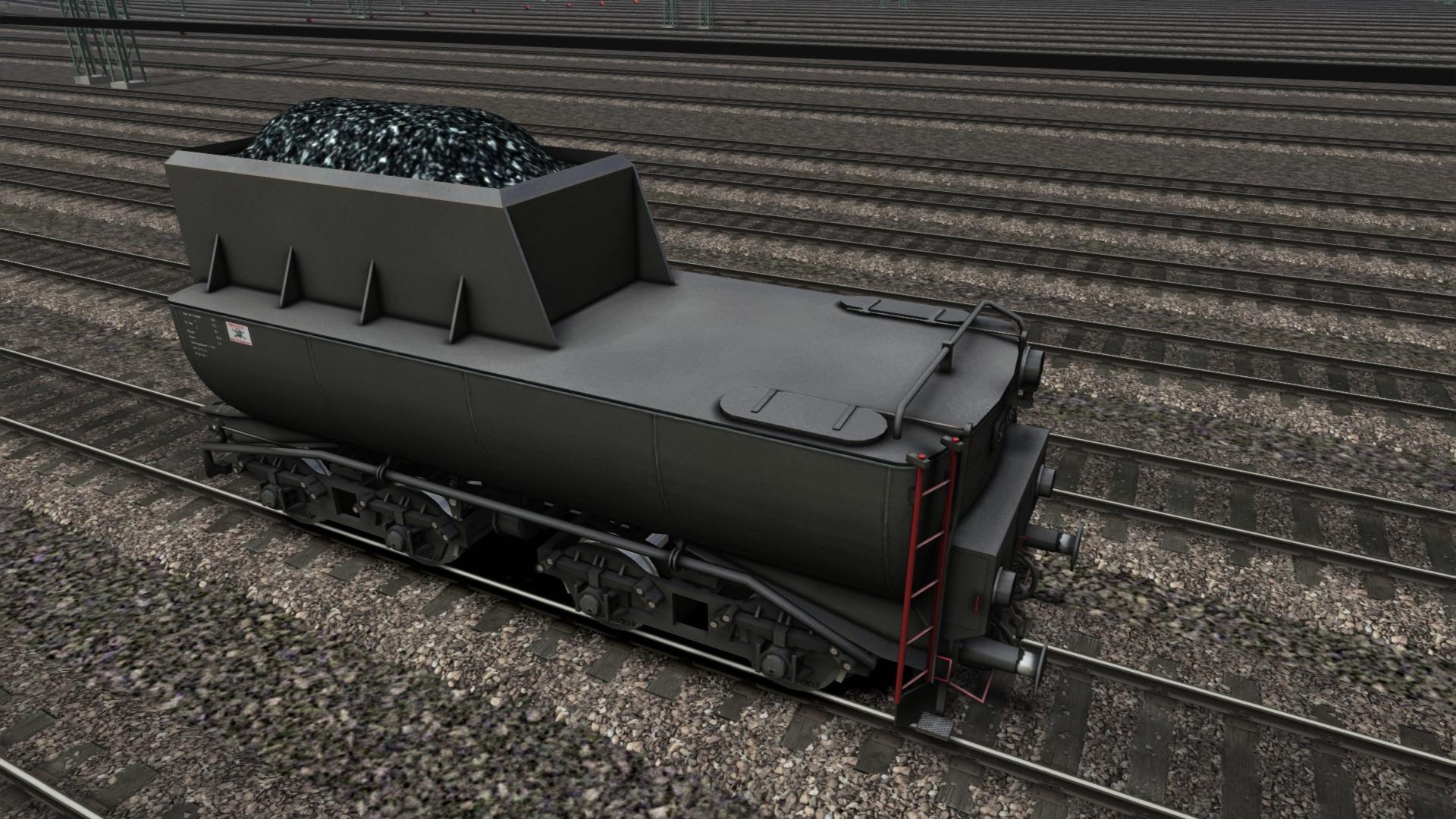 TS Marketplace: BR52 Wannentender Pack screenshot