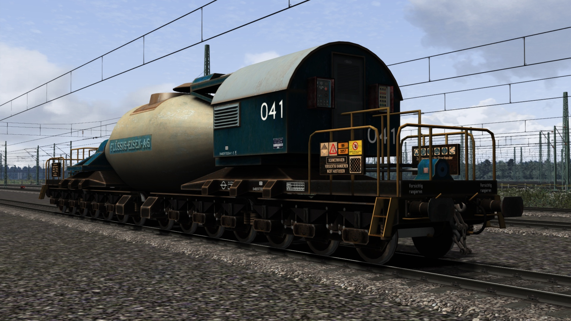TS Marketplace: Torpedopfannenwagen Pack screenshot