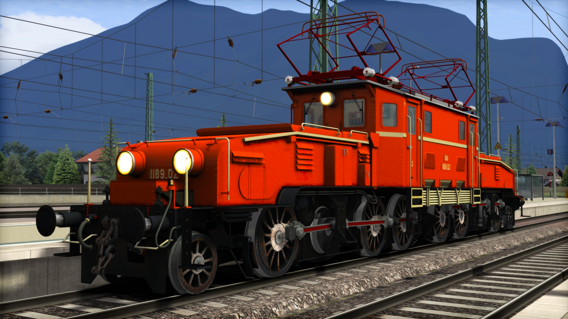 TS Marketplace: ÖBB 1189 'Krokodil' Loco Add-On screenshot