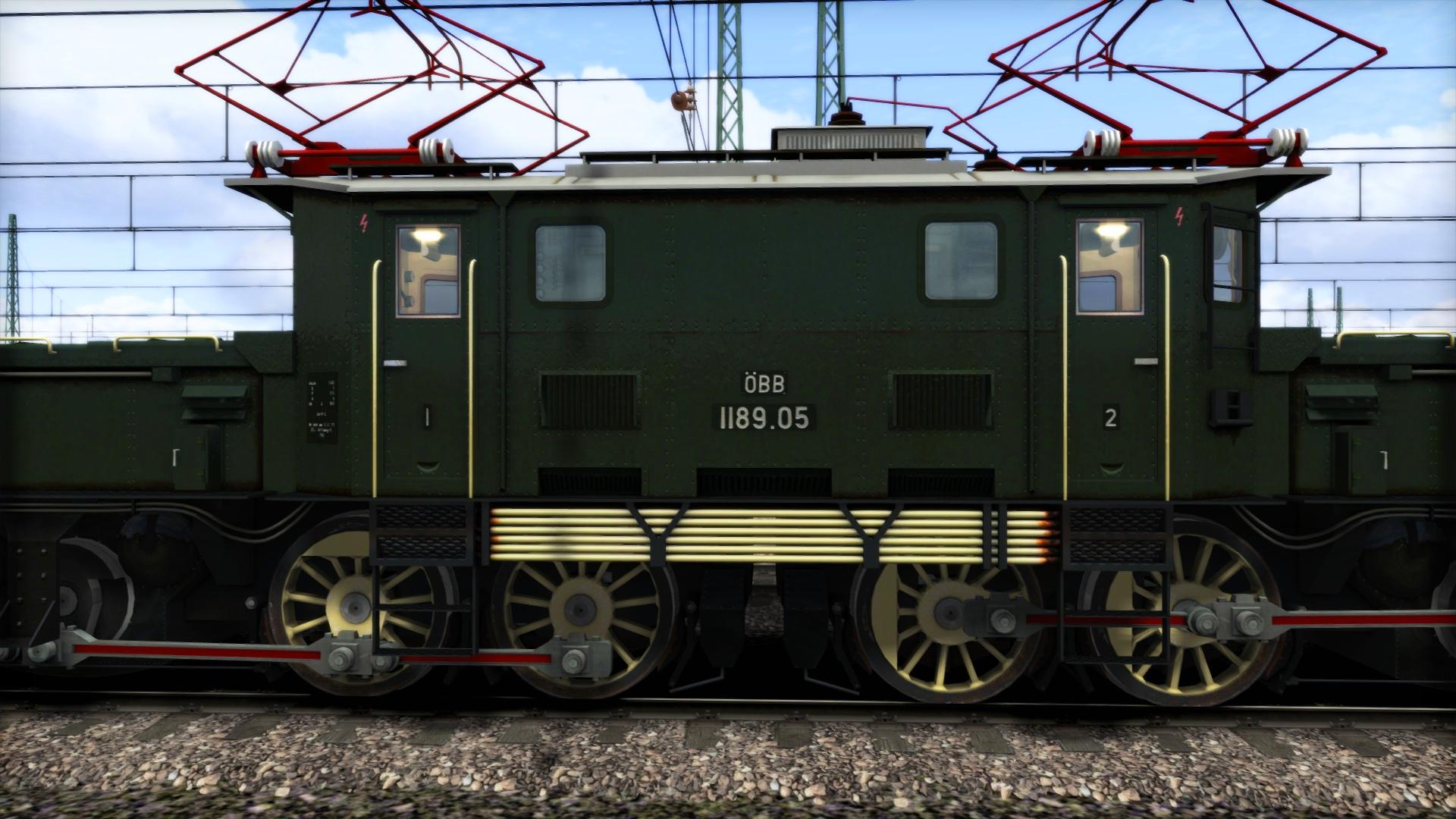 TS Marketplace: ÖBB 1189 'Krokodil' Loco Add-On screenshot