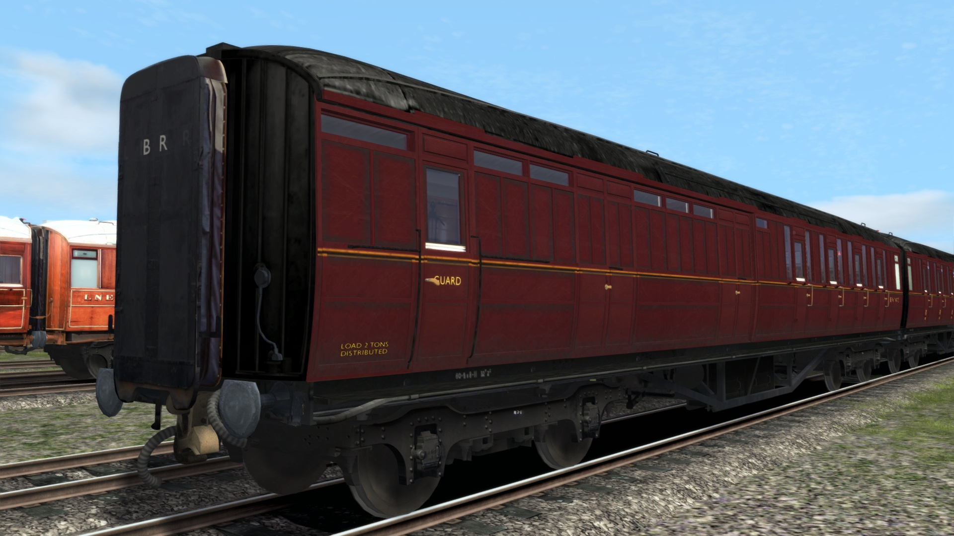 TS Marketplace: Gresley Coach Pack 01 screenshot