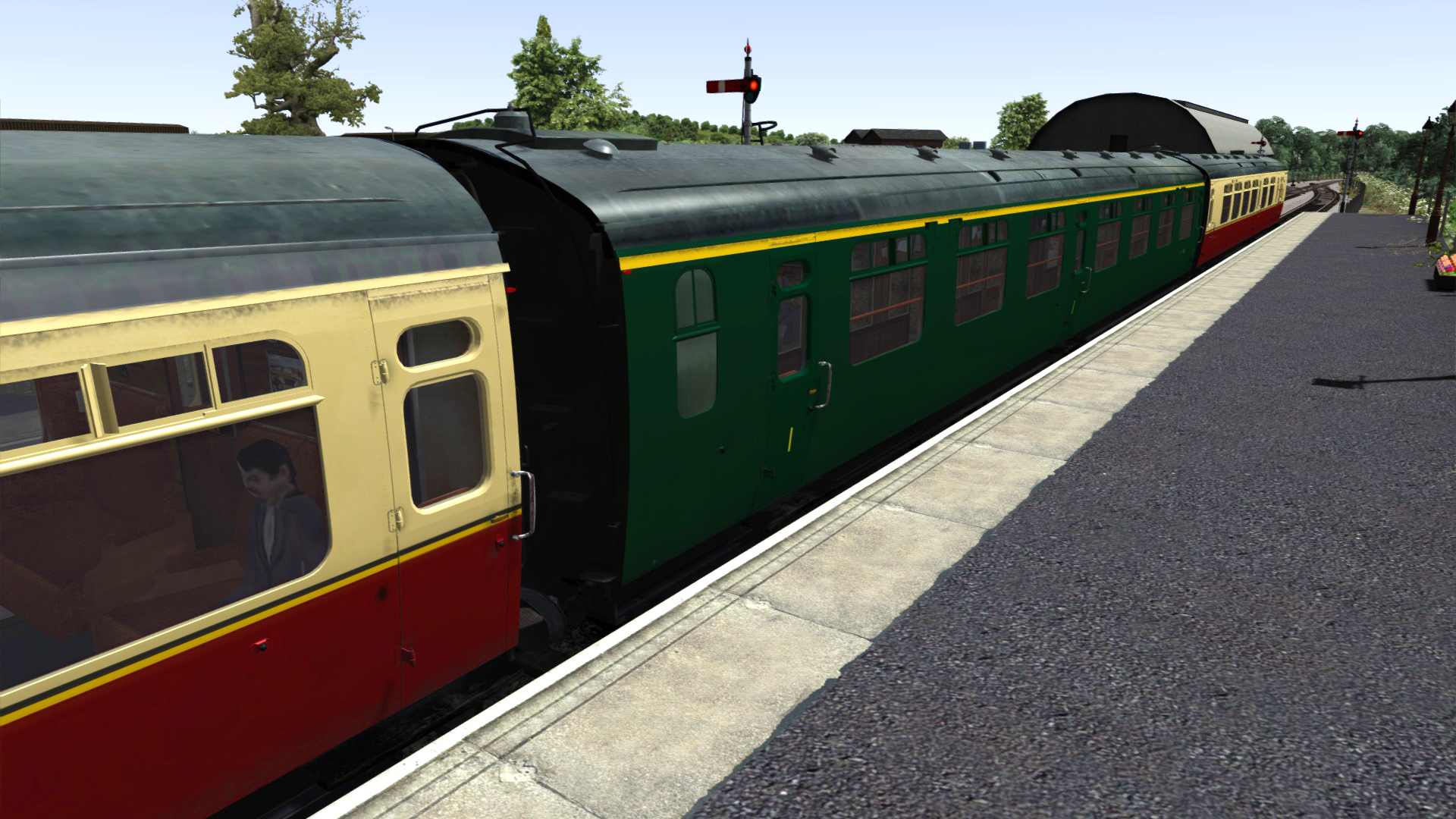 TS Marketplace: Bulleid Coach Pack 01 Add-On screenshot