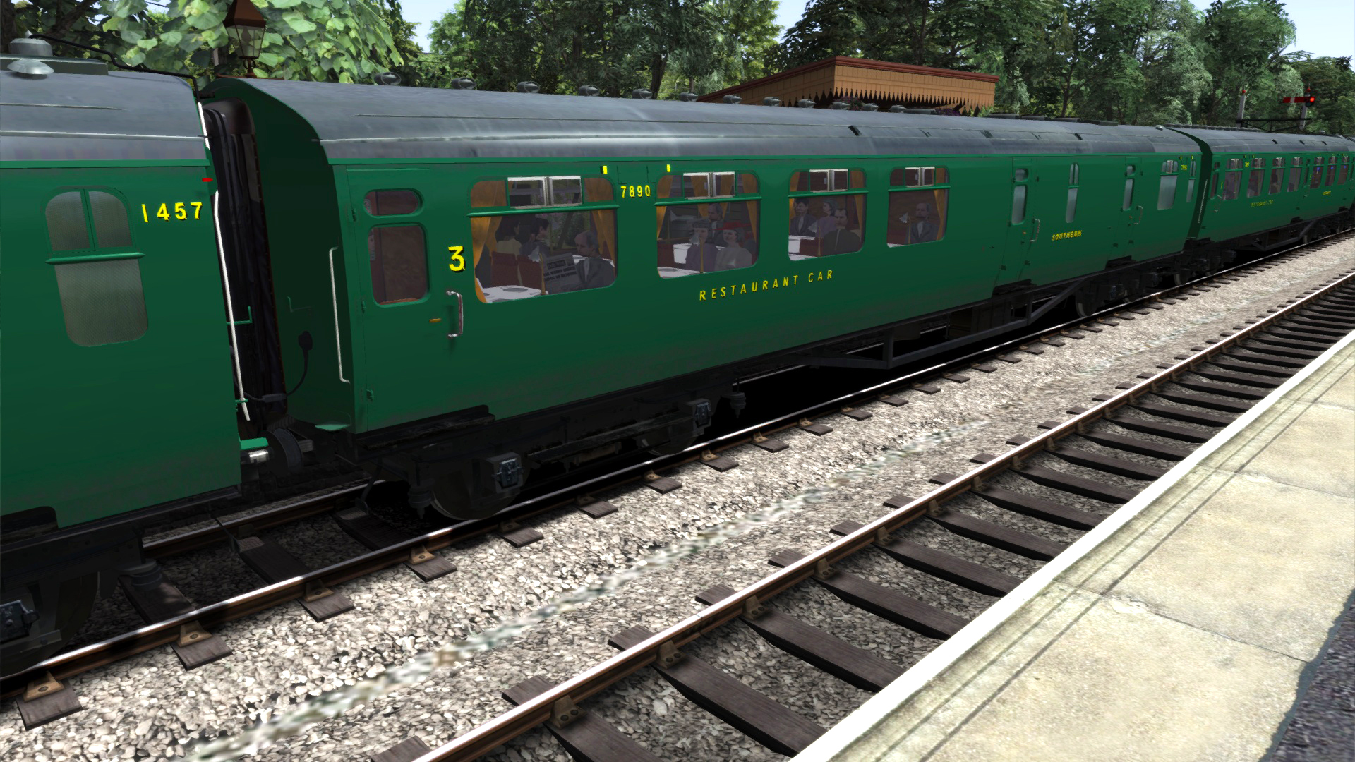 TS Marketplace: Bulleid Coach Pack 02 Add-On screenshot