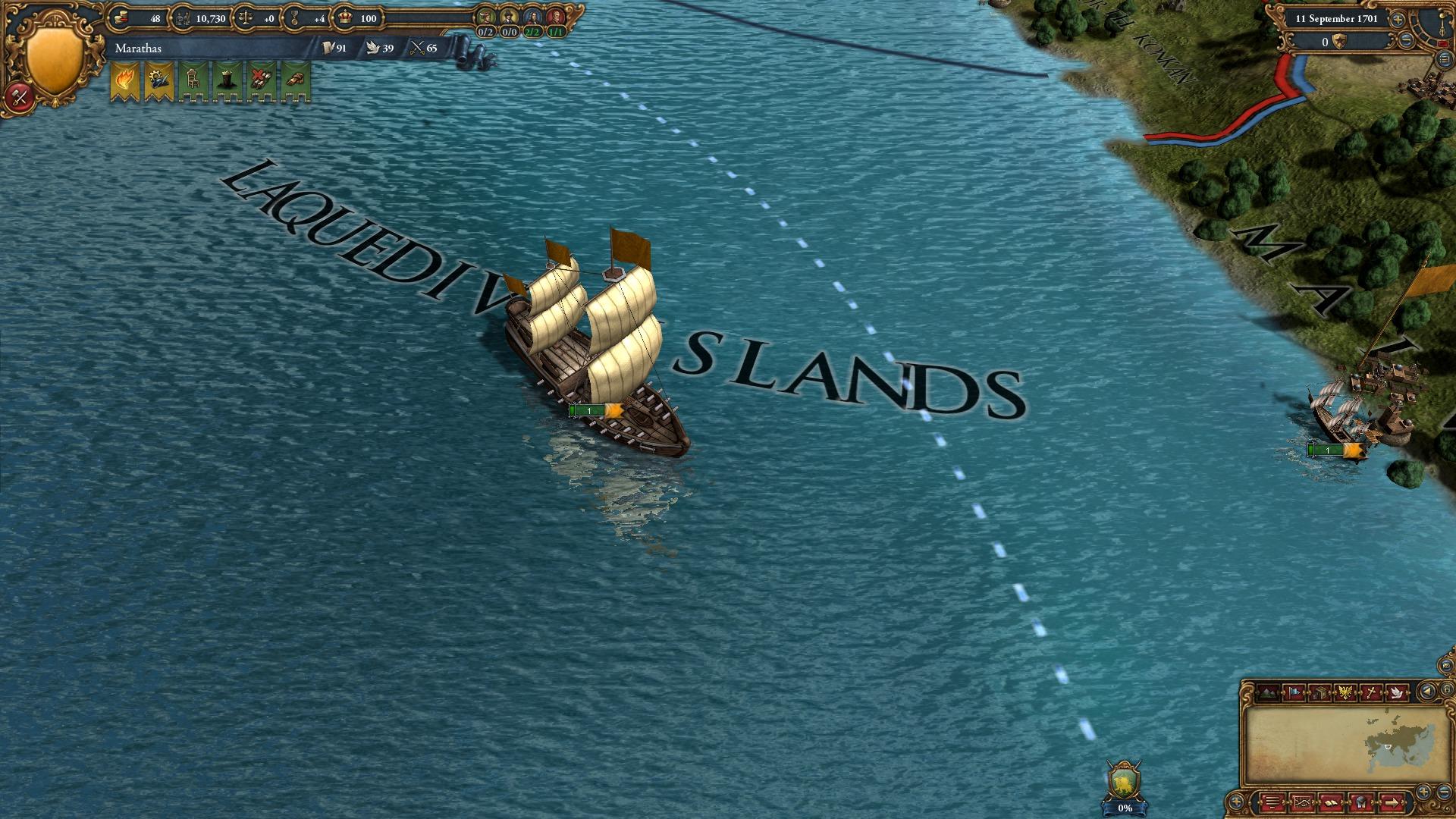 Europa Universalis IV: Indian Ships Unit Pack screenshot