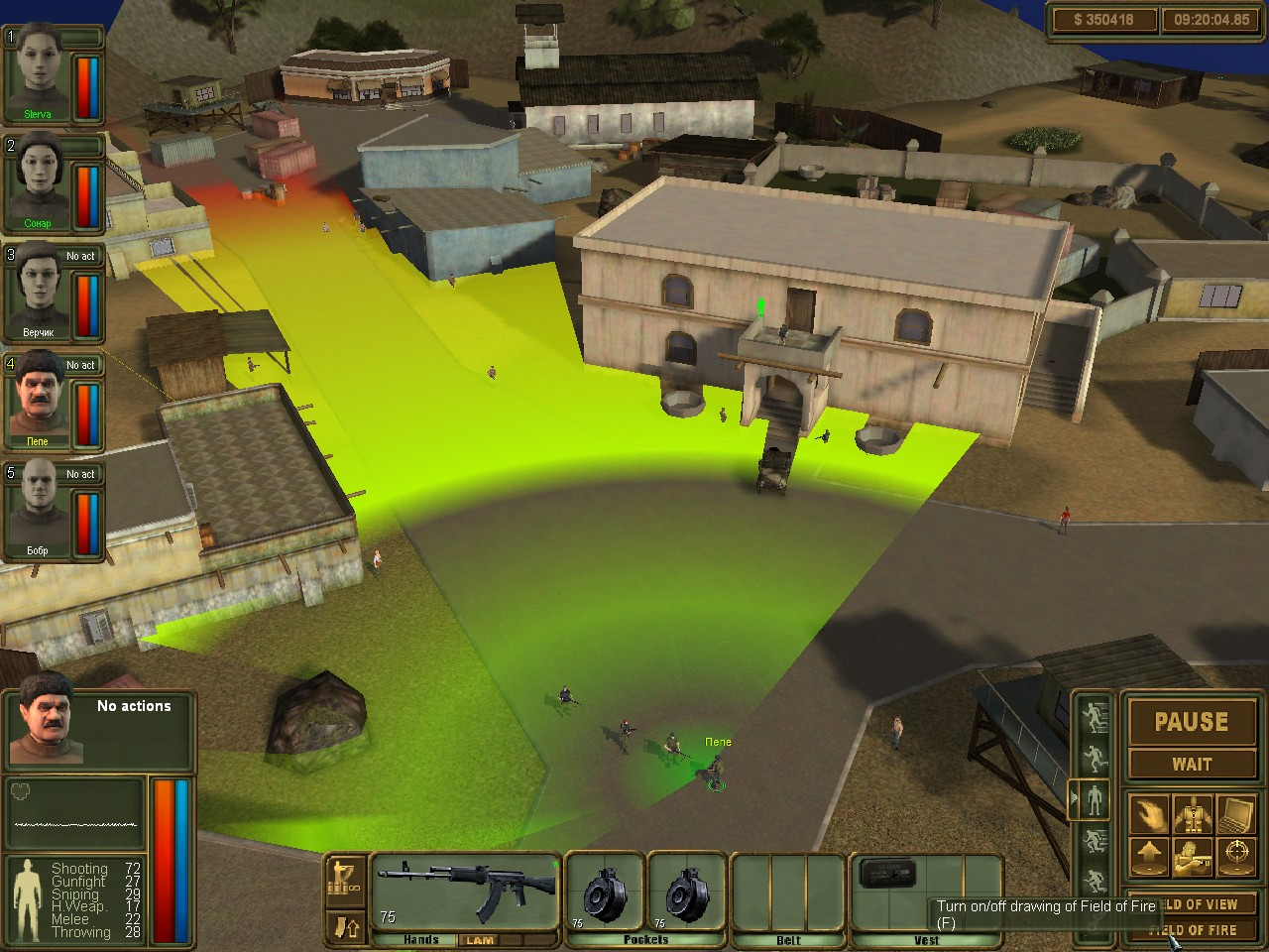 Brigade E5: New Jagged Union screenshot