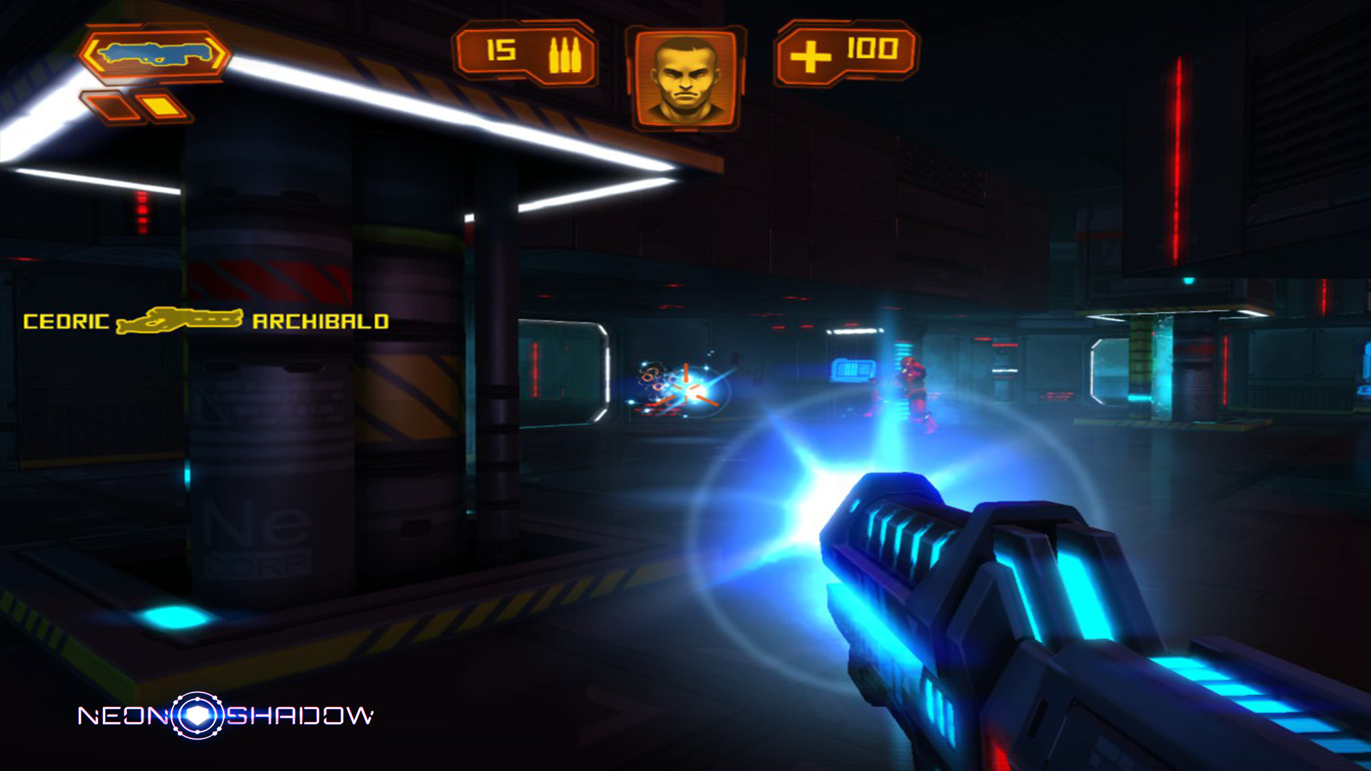 Neon Shadow screenshot