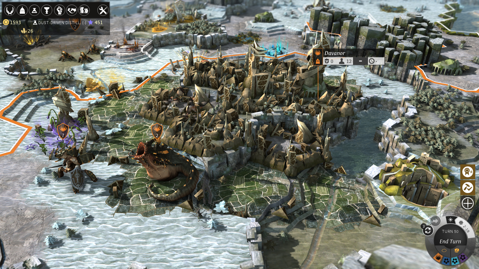 Endless Legend - Emperor Edition Upgrade screenshot