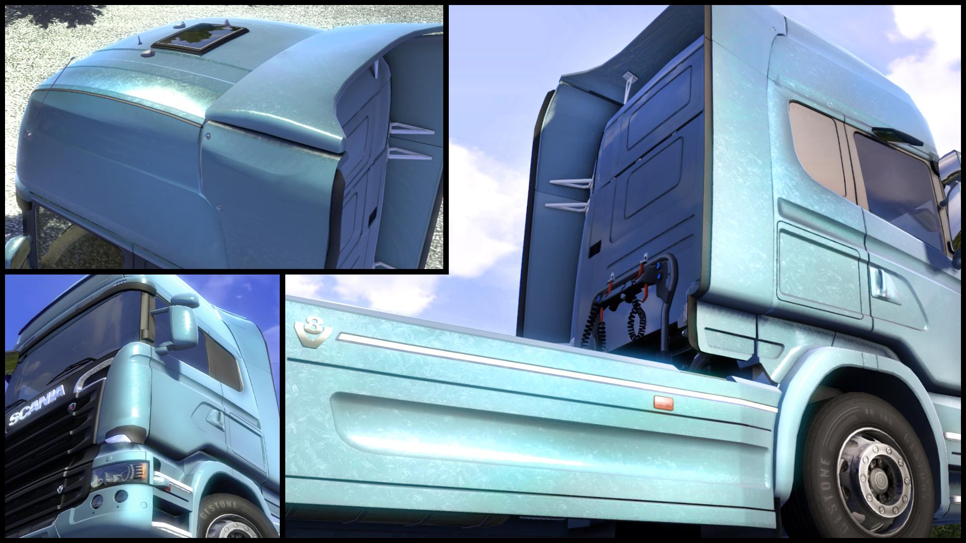 Euro Truck Simulator 2 - Metallic Paint Jobs Pack screenshot