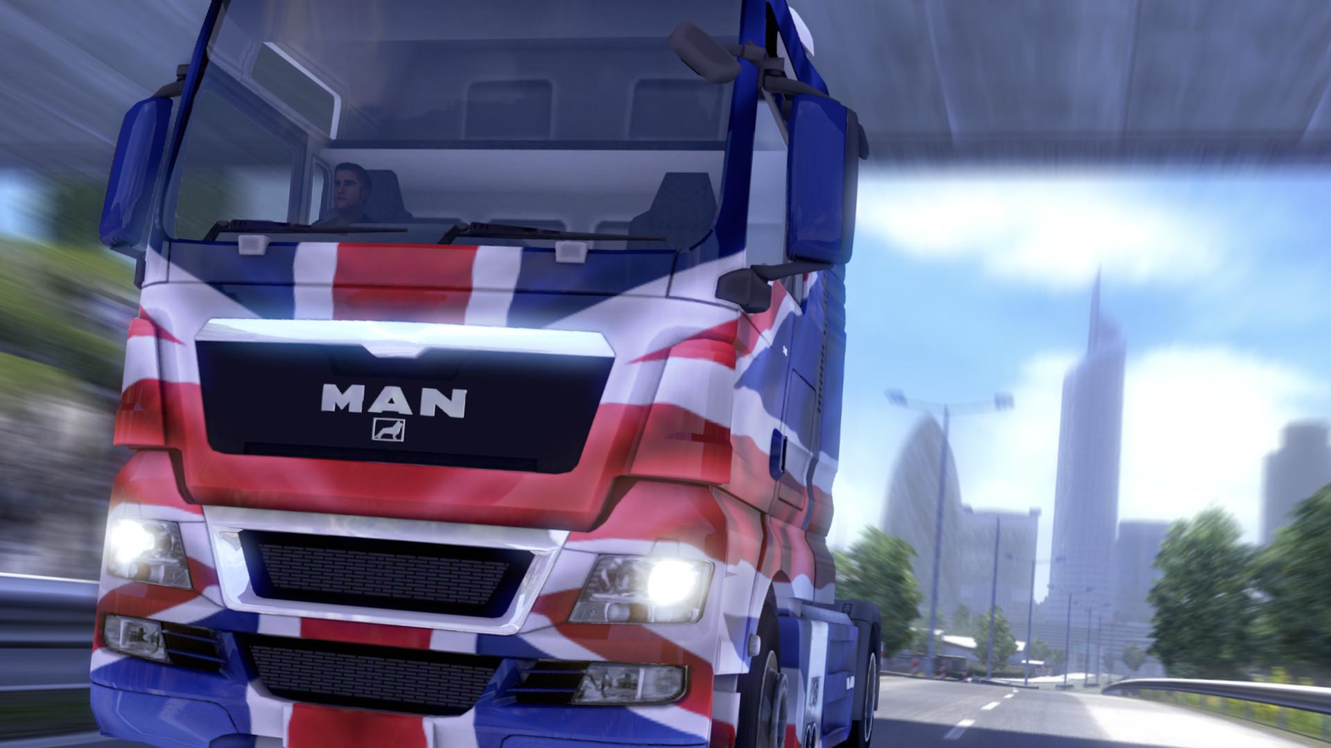 Euro Truck Simulator 2 - UK Paint Jobs Pack screenshot
