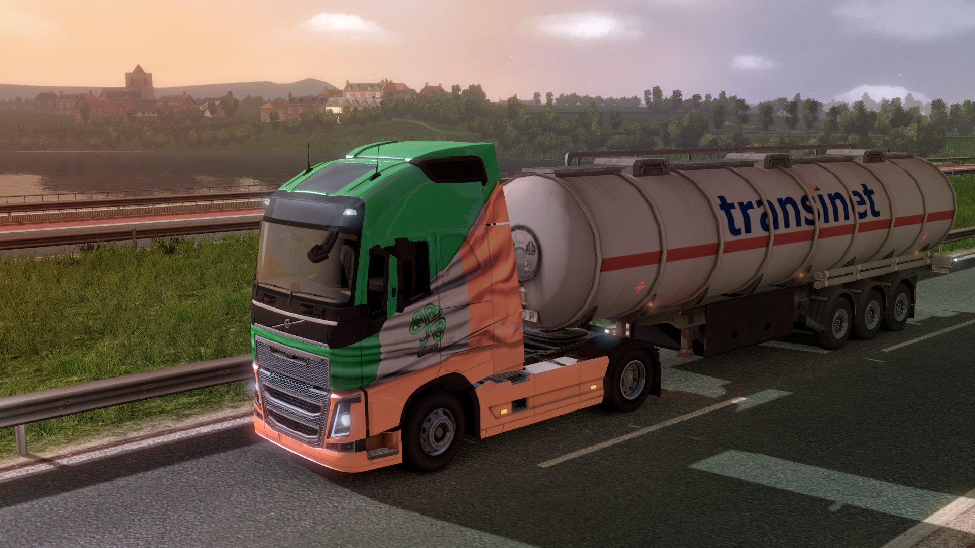 Euro Truck Simulator 2 - Irish Paint Jobs Pack screenshot