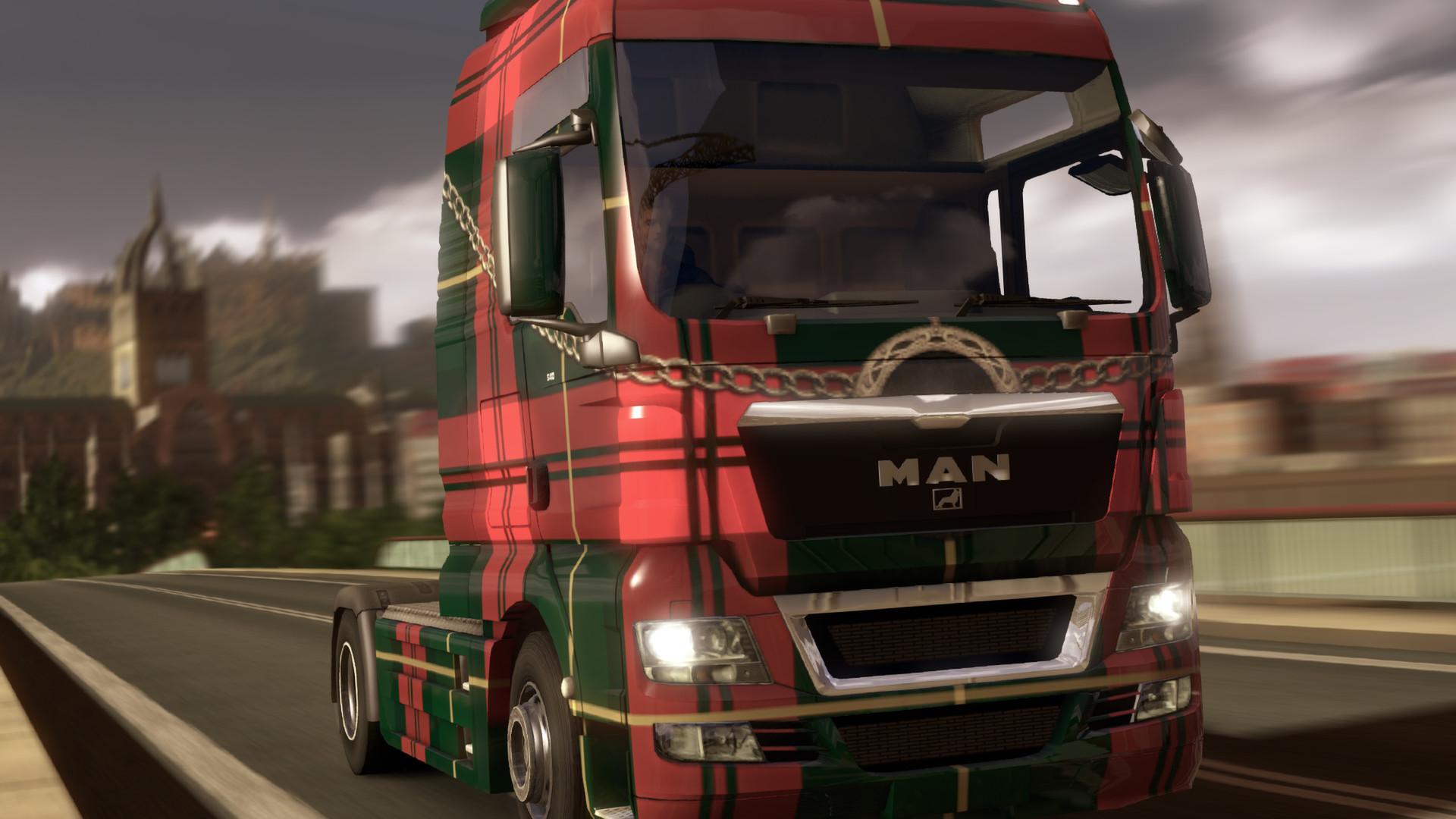 Euro Truck Simulator 2 - Scottish Paint Jobs Pack screenshot