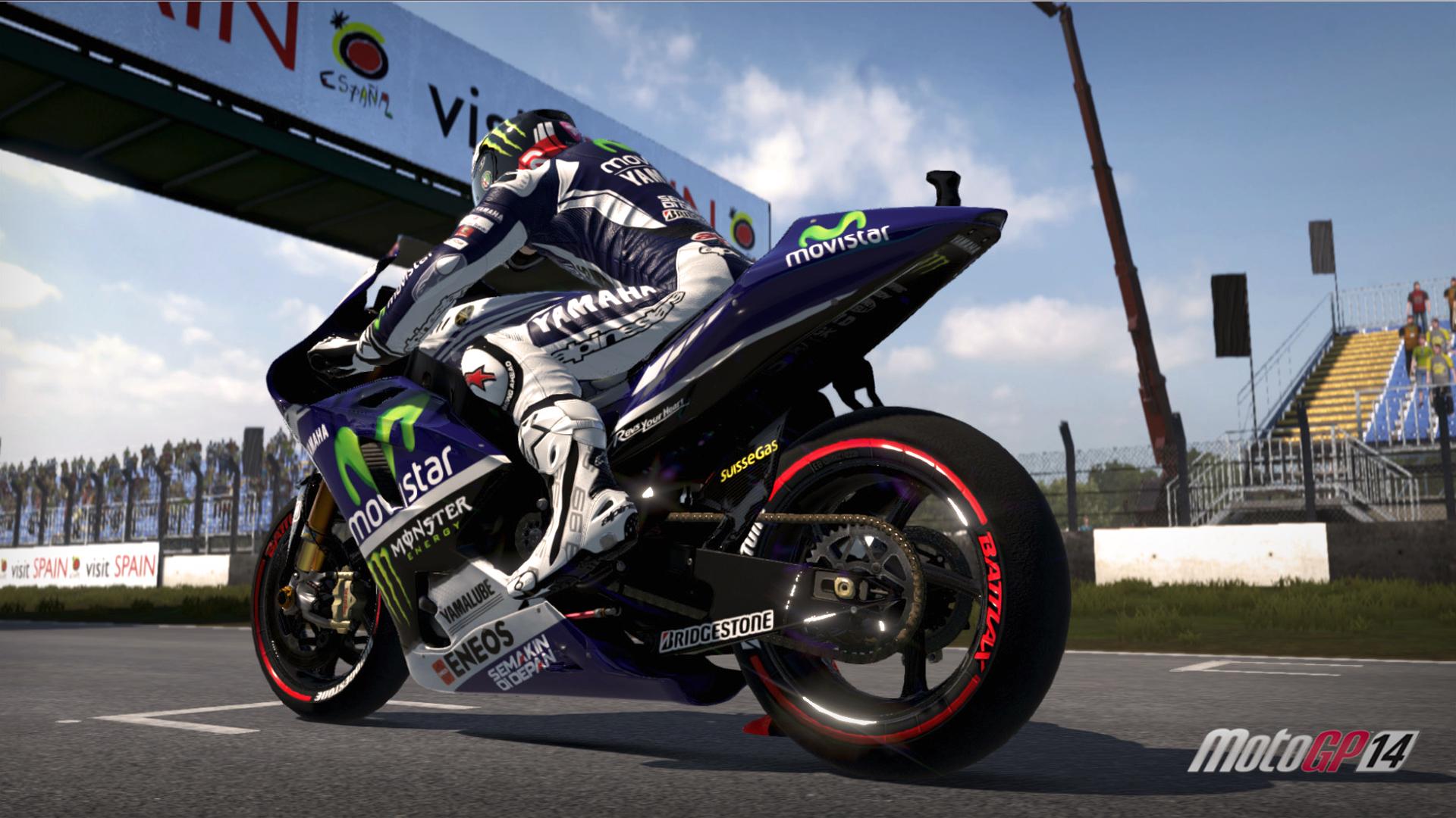 MotoGP14 Donington Park British Grand Prix DLC screenshot