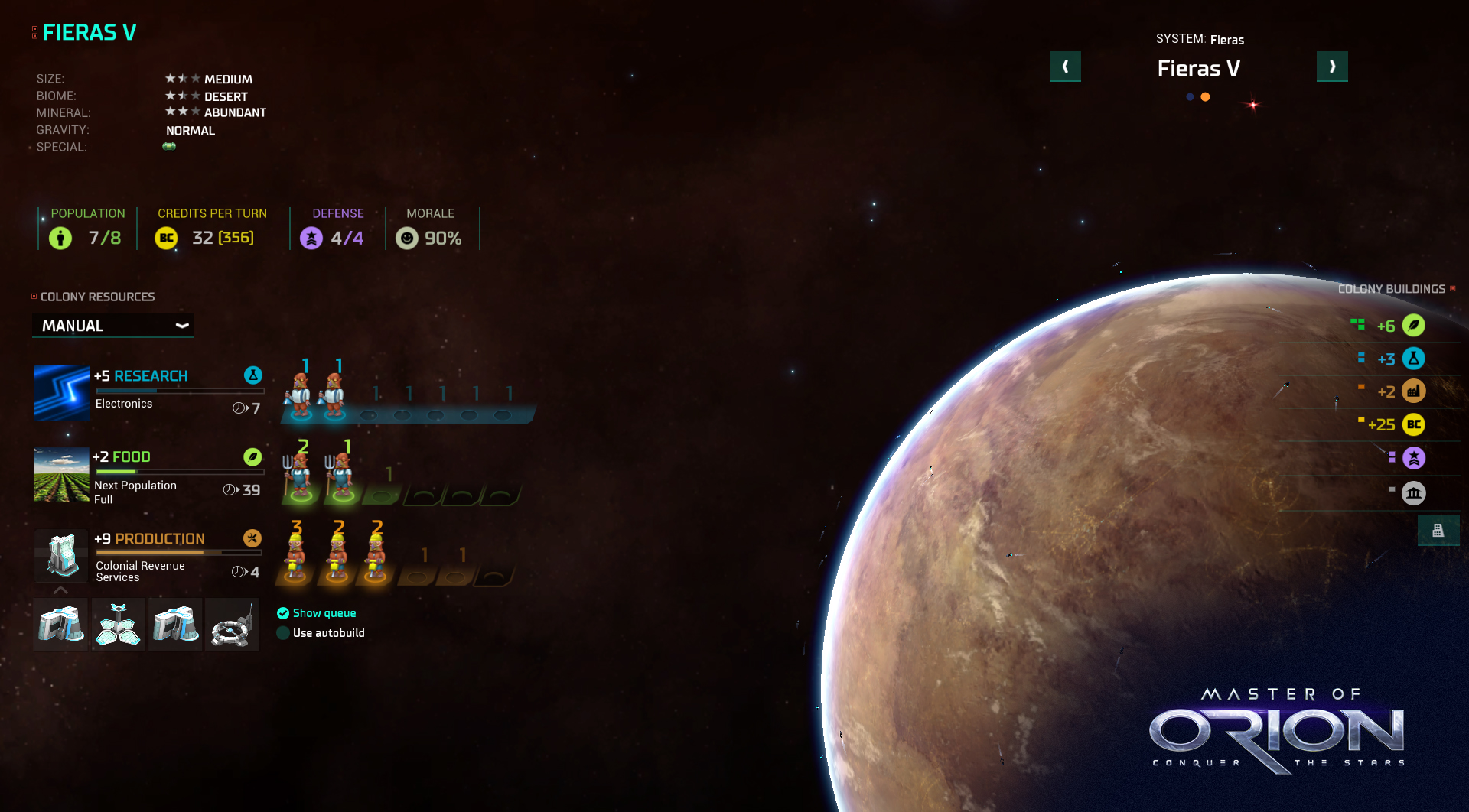 Названа дата релиза Master of Orion: Conquer the Stars