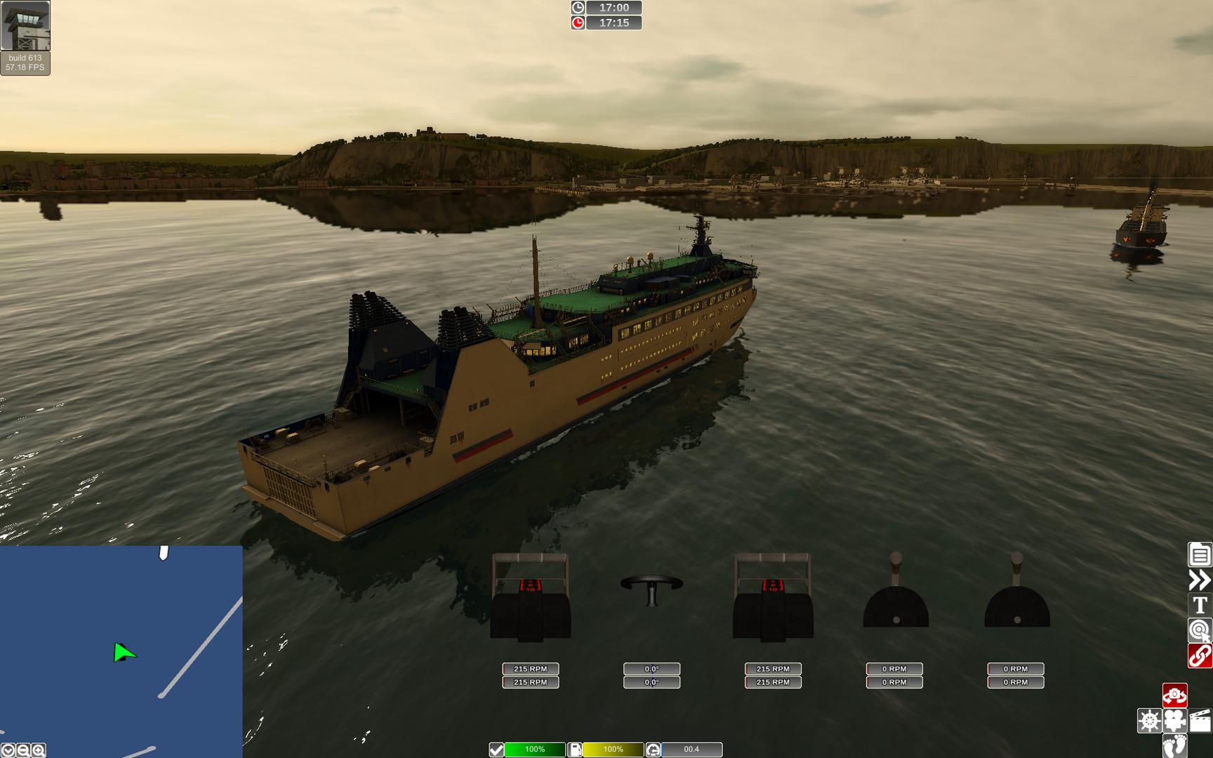 تحميل لعبة قيادة السفن الشبيهة