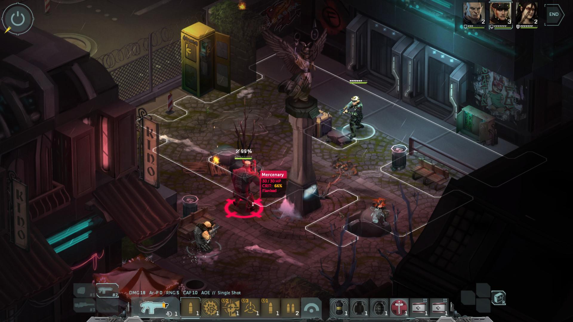 Shadowrun: Dragonfall - Director's Cut screenshot 3
