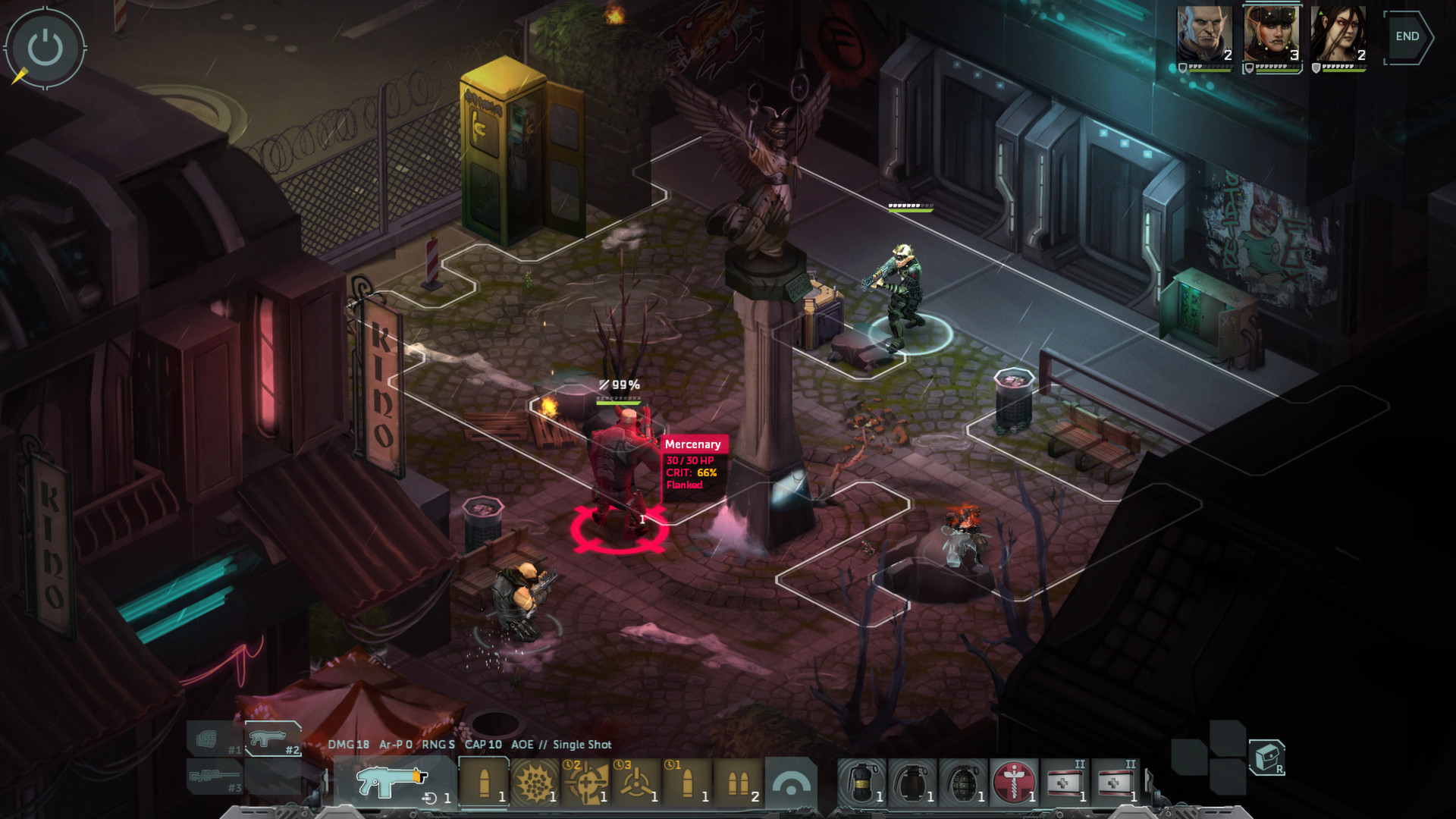 Shadowrun: Dragonfall - Director's Cut screenshot